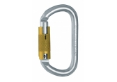 Карабин Singing Rock STEEL OVAL Triple Lock